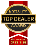 Top Dealer Motability Award